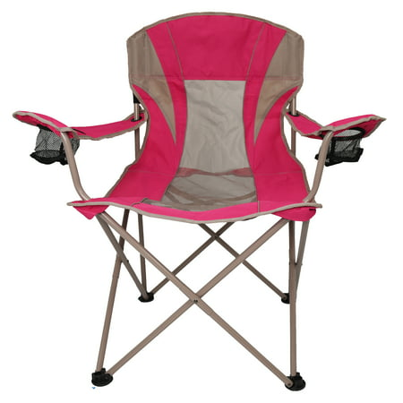 - Ozark Trail Oversize Mesh Folding Camping Chair