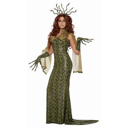 Halloween Medusa Adult Costume (Medusa Snake Hair Halloween)