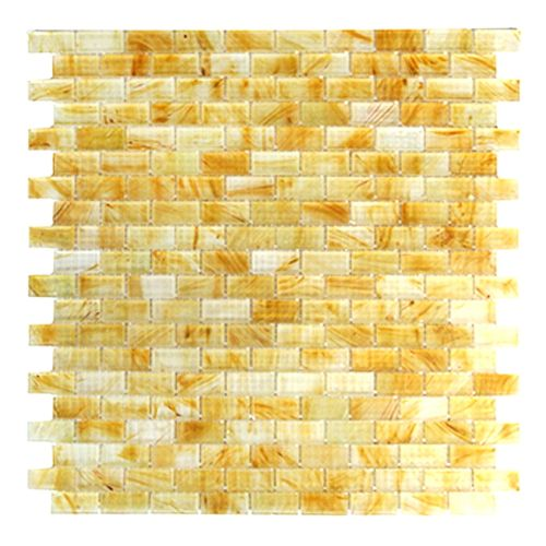 "Miseno MT-SIENNA5/8RECT Sienna - 5/8"" X 1-1/4"" - Glass Visual - Wall Tile (Sold by Sheet)"