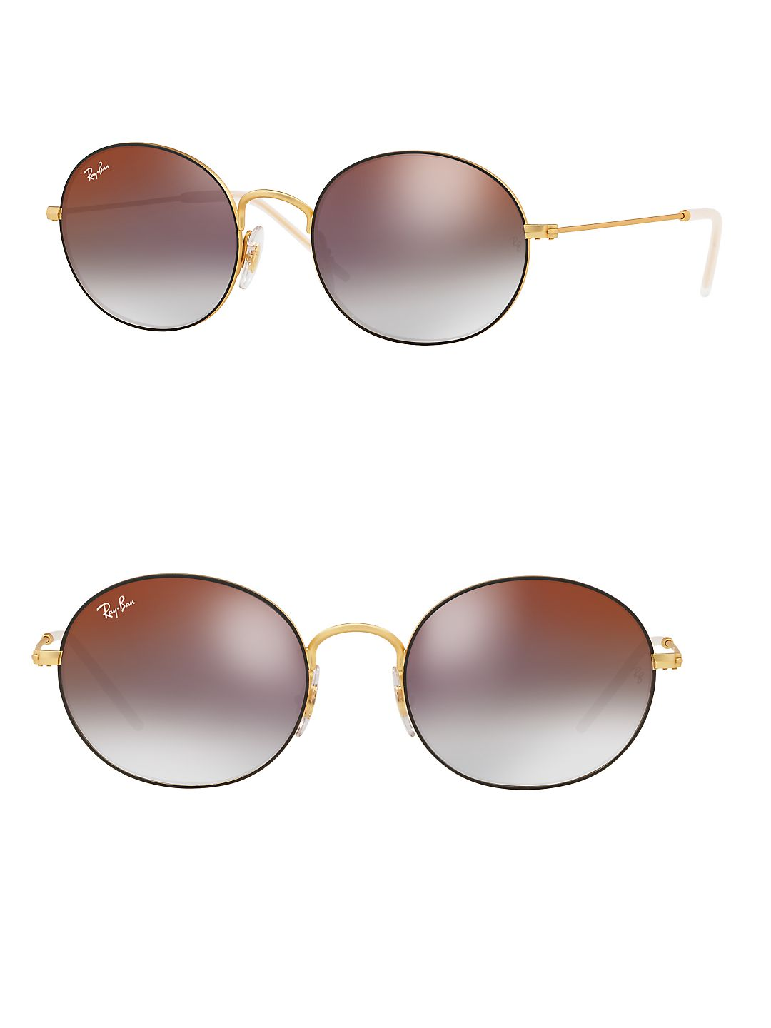 53MM Oval Sunglasses