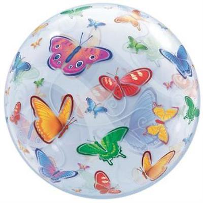 Butterflies Bubble Balloon, 2PK](Butterfly Balloon)