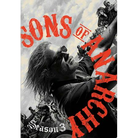 Sons of Anarchy: Season Three (DVD)