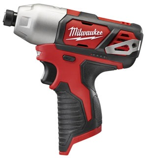 Milwaukee 2462-20 M12 1/4 Hex Impact Driver - Bare