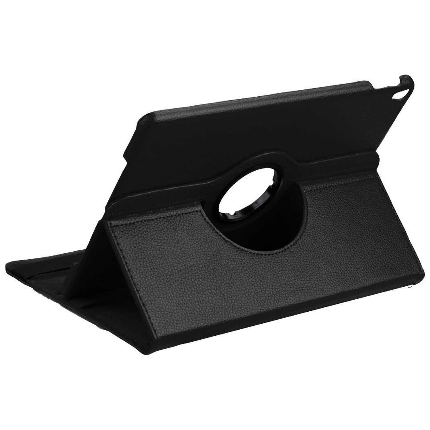 """Apple iPad Pro Case 10.5"""", by Insten 360 Rotation Book-Style Leather Fabric Stand Case For Apple iPad Pro 10.5"""" - Black"""
