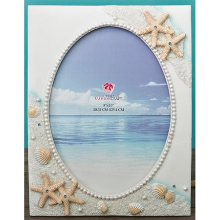 Fashion Craft Hand Painted Beach Picture Frame