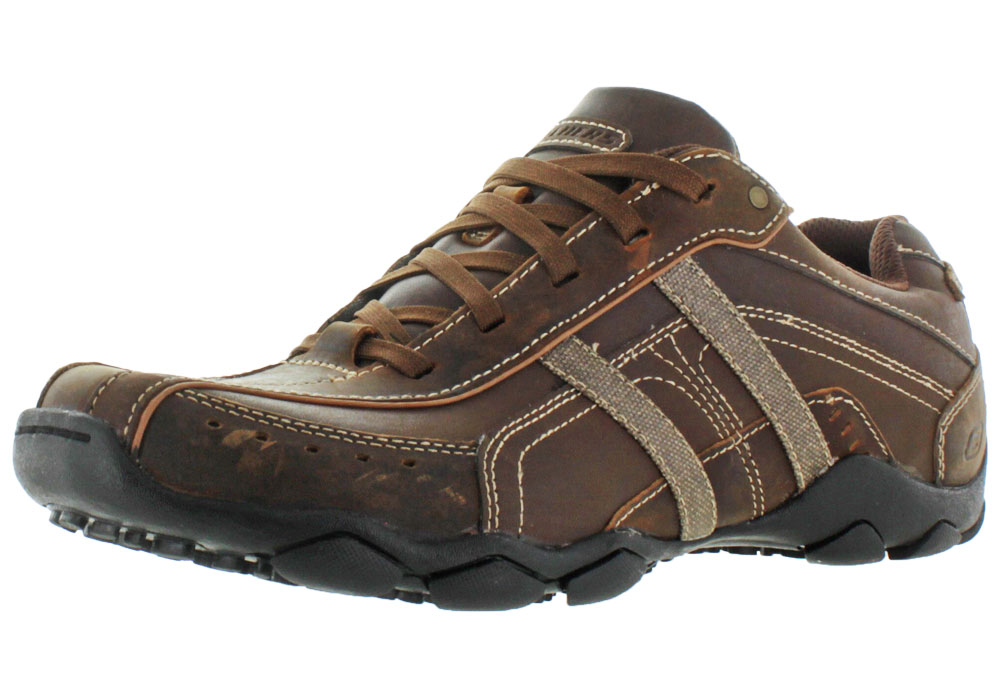 Skechers Diameter Murilo Men's Casual Oxford Shoes Leather by Skechers