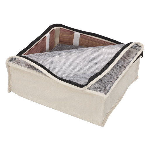 Household Essentials Cedarline Zippered Sweater Bags, 2-Pack