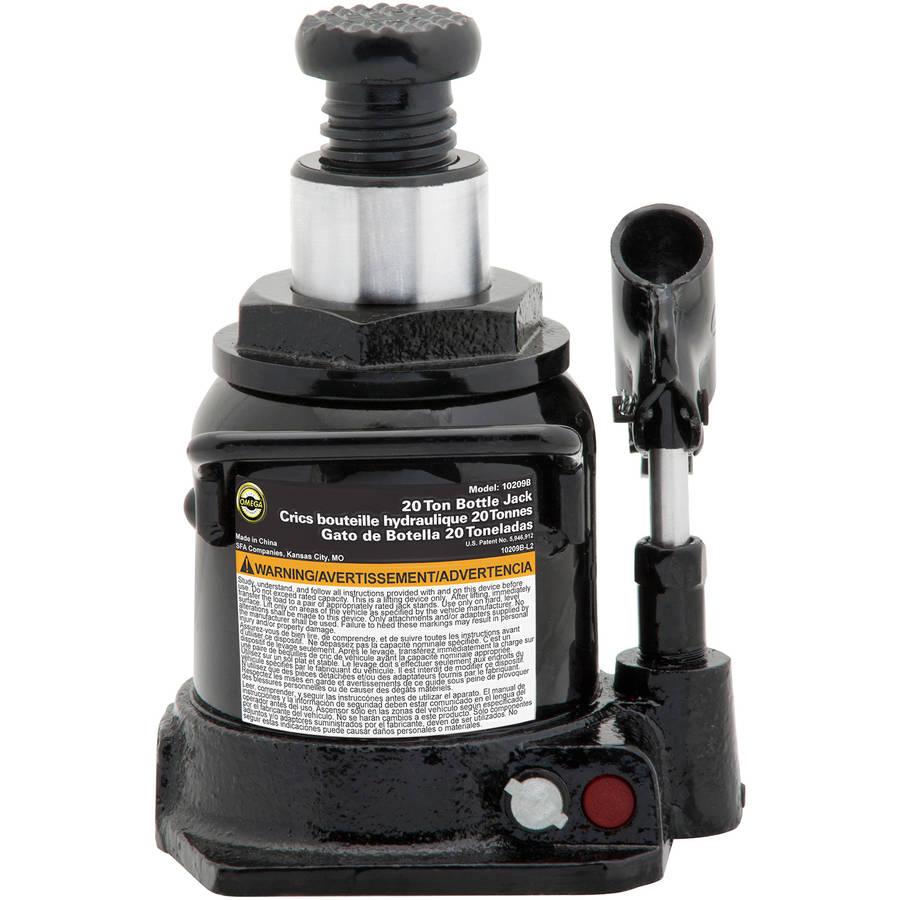 Lemoning Low Profile Hydraulic Bottle Jack 20 TON Automotive Shop Axle Jack Hoist Lift
