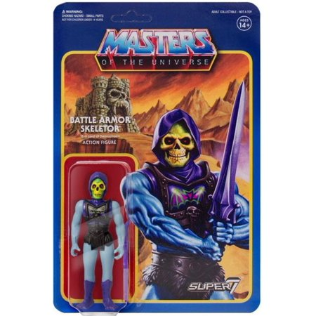 ReAction Masters of the Universe Battle Armor Skeletor Action Figure [Battle Damaged Version]