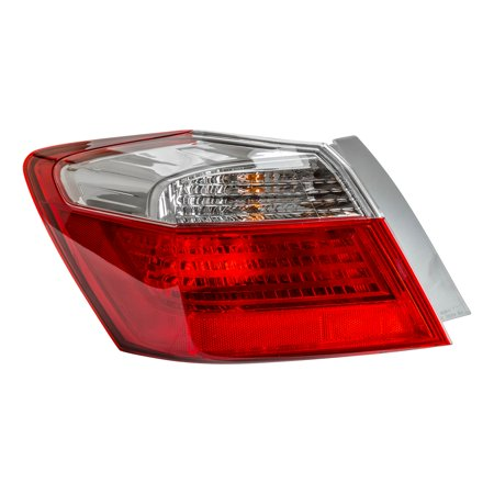 TYC 11-6530-00-1 Left Outer Tail Light Assembly for 13-15 Honda Accord HO2804101