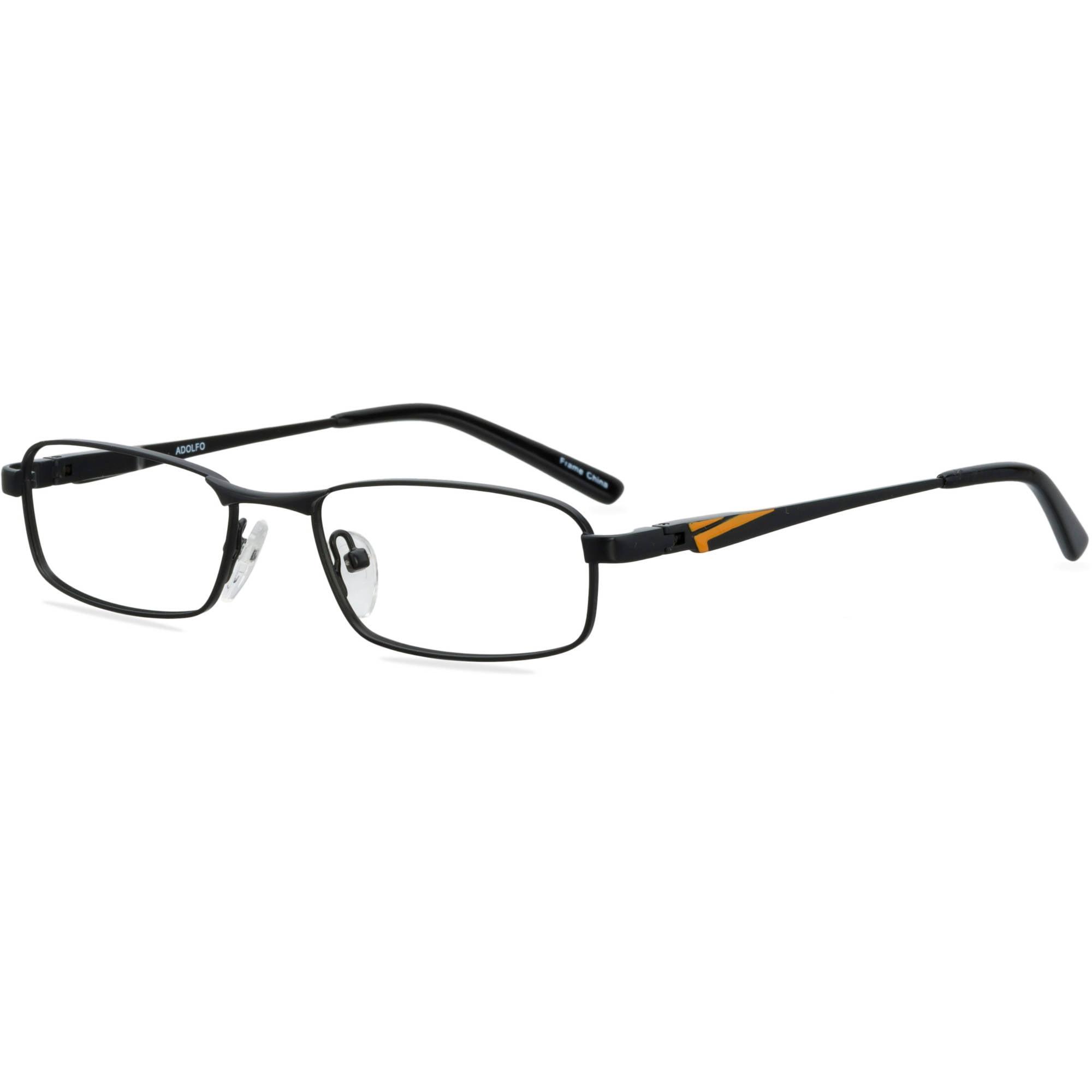 ADOLFO Boys Prescription Glasses, Touchdown Black