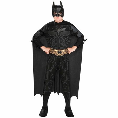 Batman The Dark Knight Rises Child Halloween Costume - Black Dress Halloween Costume Diy