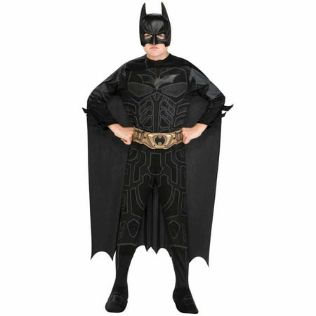 Batman The Dark Knight Rises Child Halloween Costume (Kids Batman Dark Knight Costume)