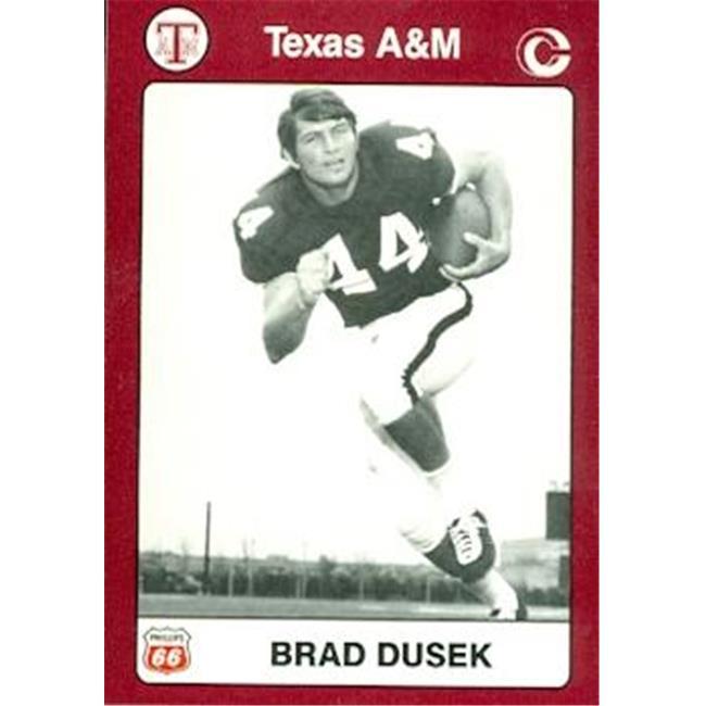 Brad Dusek Football Card (Texas A&M) 1991 Collegiate Collection No. 34