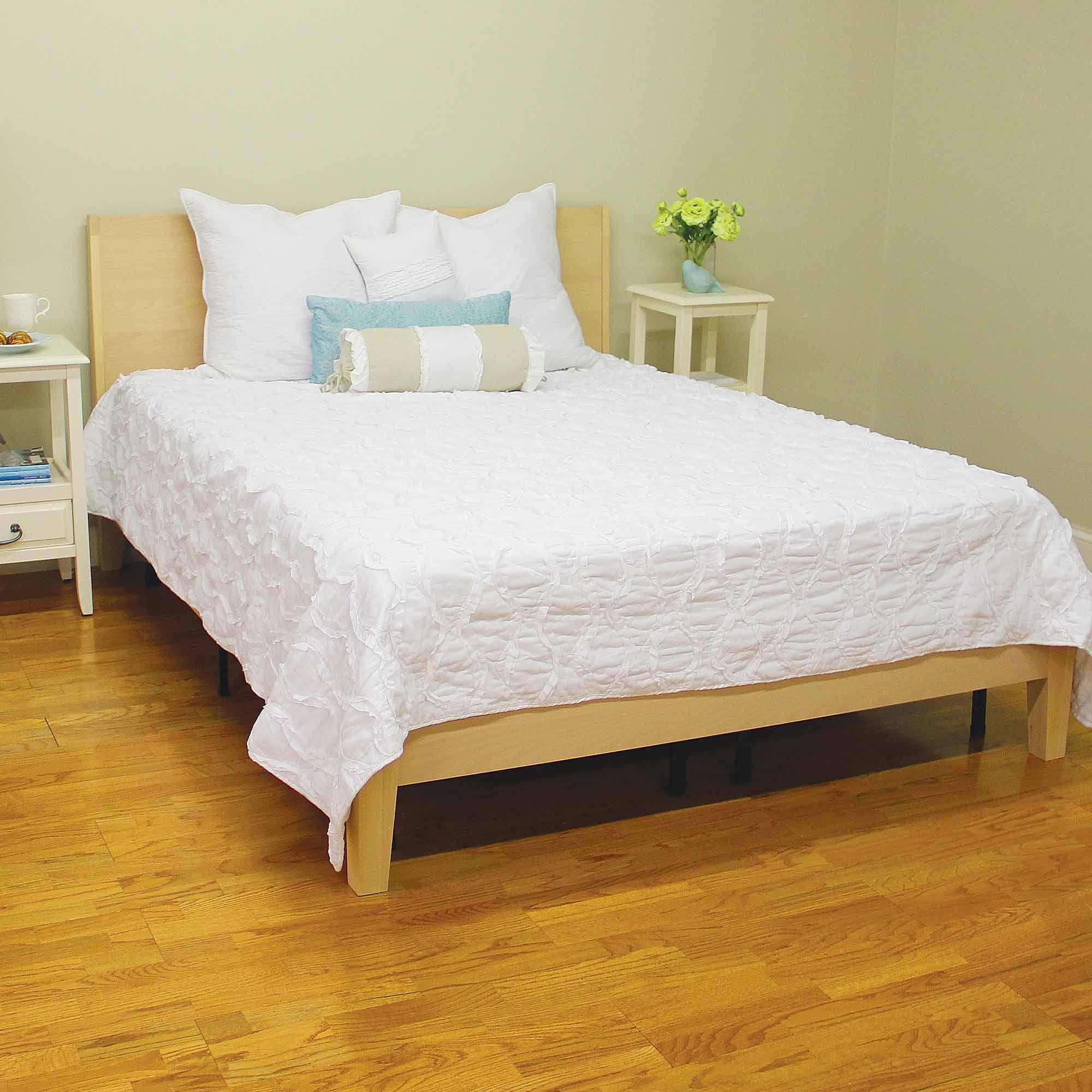 Modern Metal Bed Frames modern sleep platform metal bed frame mattress foundation