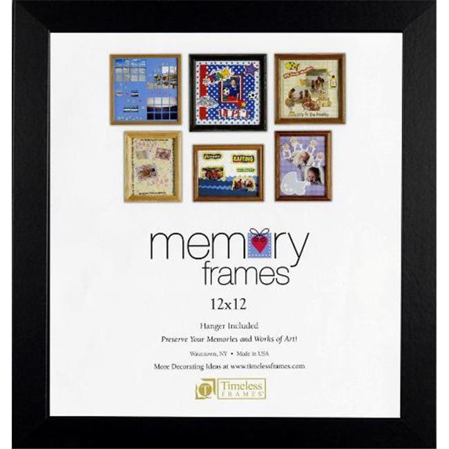 Timeless Frames 46586 Anna Memory White Wall Frame, 12 x 12 in.