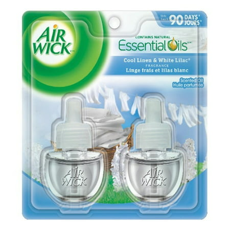 Air Wick Scented Oil Twin Refills: Cool Linen & White Lilac - image 1 of 1