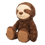 Spark Create Imagine Large Plush Sloth, Brown, 14.5""