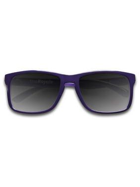 f8e3bdb790c Product Image KZ Gear The Royale Gloss Purple w  Gray Polarized Medium Floating  Sunglasses