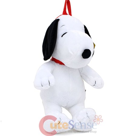Peanuts Snoopy Plush Doll Backpack Soft Stuffed Plush Costume Bag