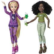 Ralph Breaks The Internet Rapunzel & Tiana Disney Princess Dolls Hasbro