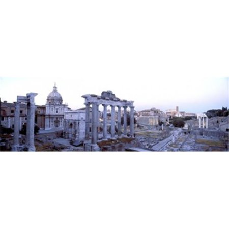 Panoramic Images PPI74553L Roman Forum Rome Italy Poster Print by Panoramic Images - 36 x 12 - image 1 of 1