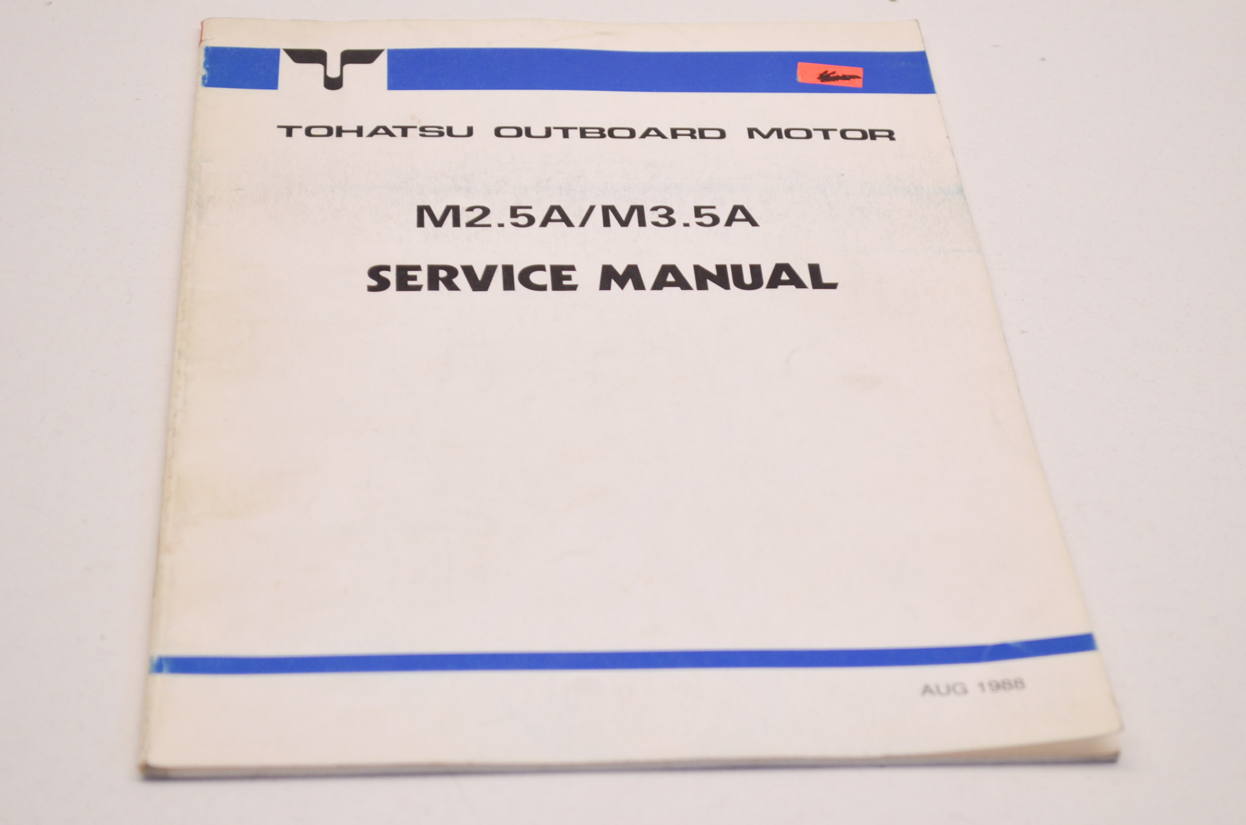 ... list catalog Array - tohatsu 003 21016 0 outboard motor service manual  m2 5a m3 5a qty 1