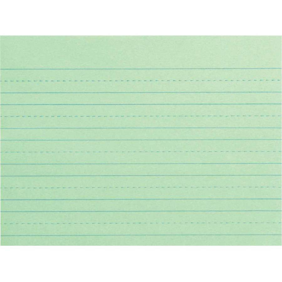 "School Smart Newsprint Practice Paper with Skip Rulings, 12"" x 9"", Multiple Styles, Green, Pack of 500"