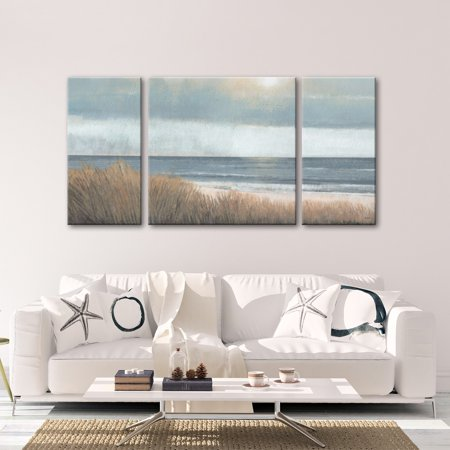 Norman Wyatt Home Studio 212   Sea Breeze 30 x 60 Gallery Wrapped Canvas - (Norman Studio)