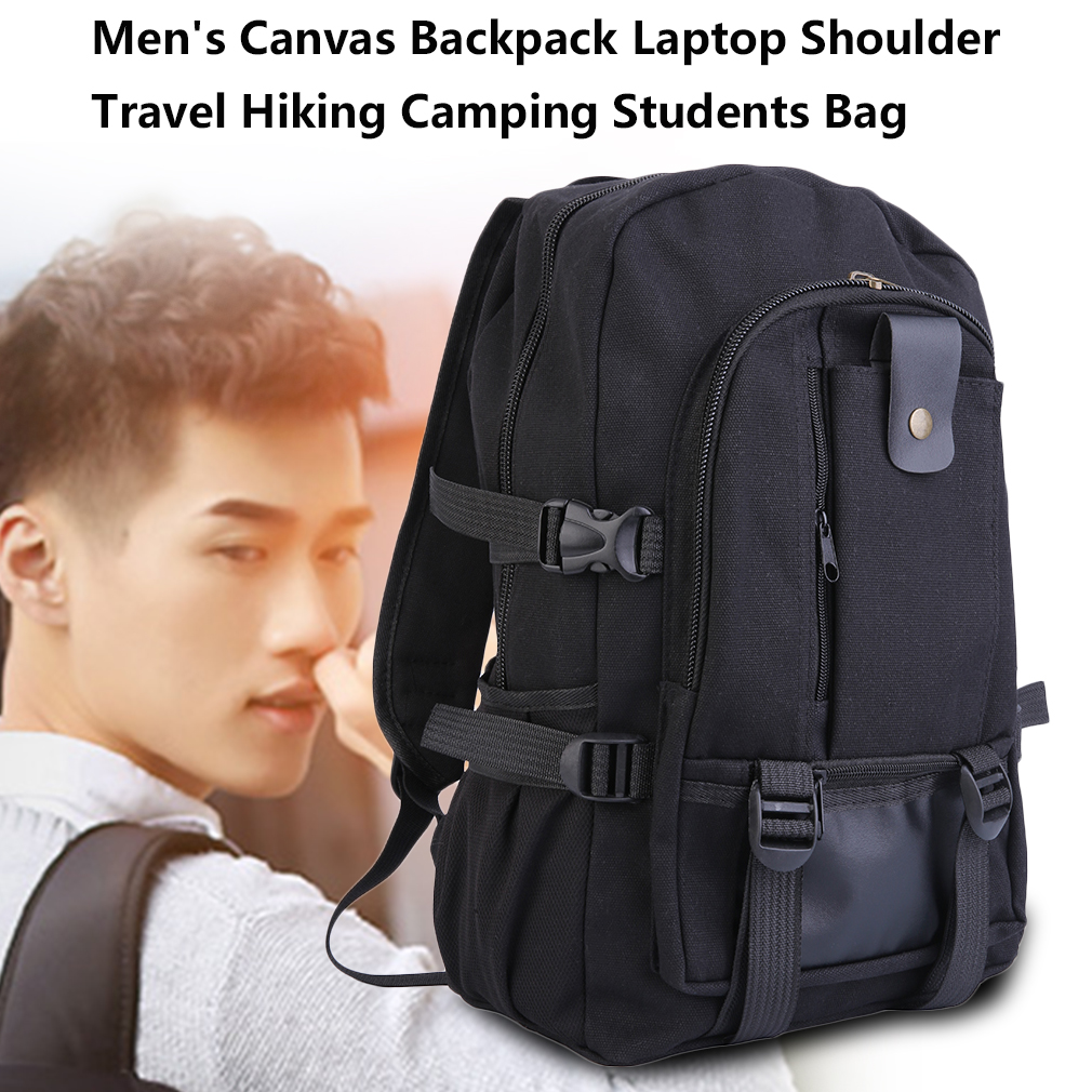 High Quality Men's Outdoor Sport Vintage Canvas Military backpack diaper bag for adults heavy duty Shoulder Travel Hiking Camping School Bag Backpack