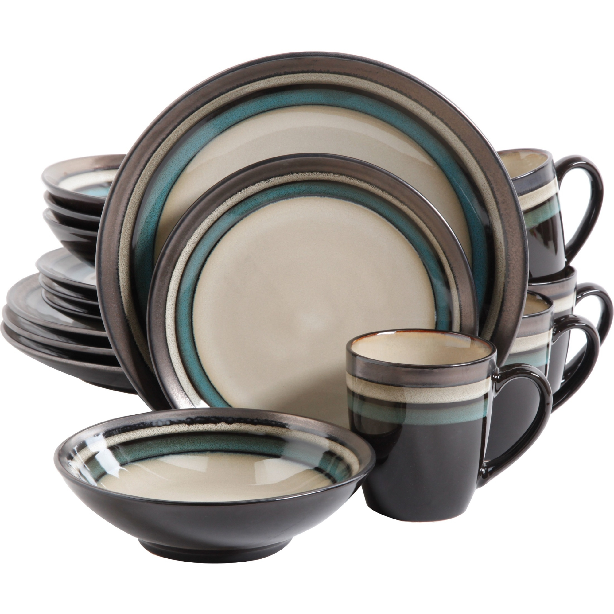 Excellent Dinnerware Set by Gibson Usa