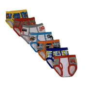 Cars Toddler Boys Brief Underwear, 7-Pack