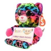 TY Beanie Boos - Peek-A-Boos - LANCE the Leopard (4 inch - Phone Holder)