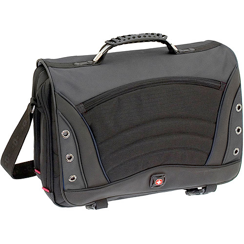 "Swissgear GA-7488-14F00 SATURN Computer Bag, Fits Most 17"" Laptops, Gray"