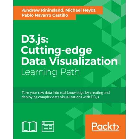 D3 js: Cutting-edge Data Visualization - eBook