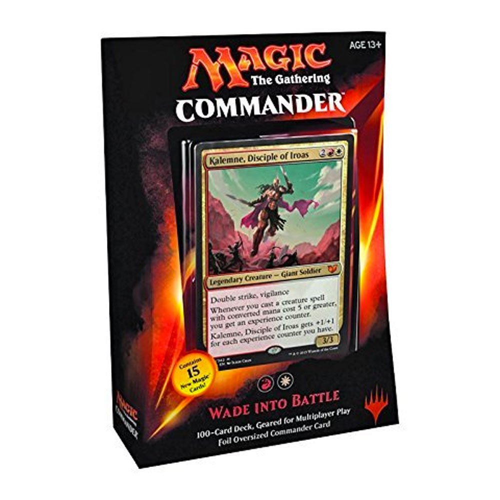 MTG Commander 2015 Edition Magic the Gathering Wade Into Battle Red White Deck New Sealed by