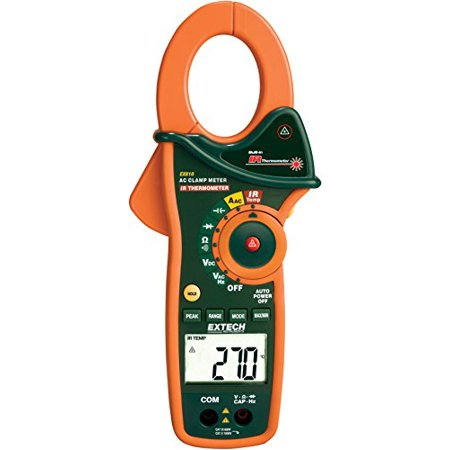 Extech EX810 1000A Clamp Meter with Infrared (Thermometer Clamp)