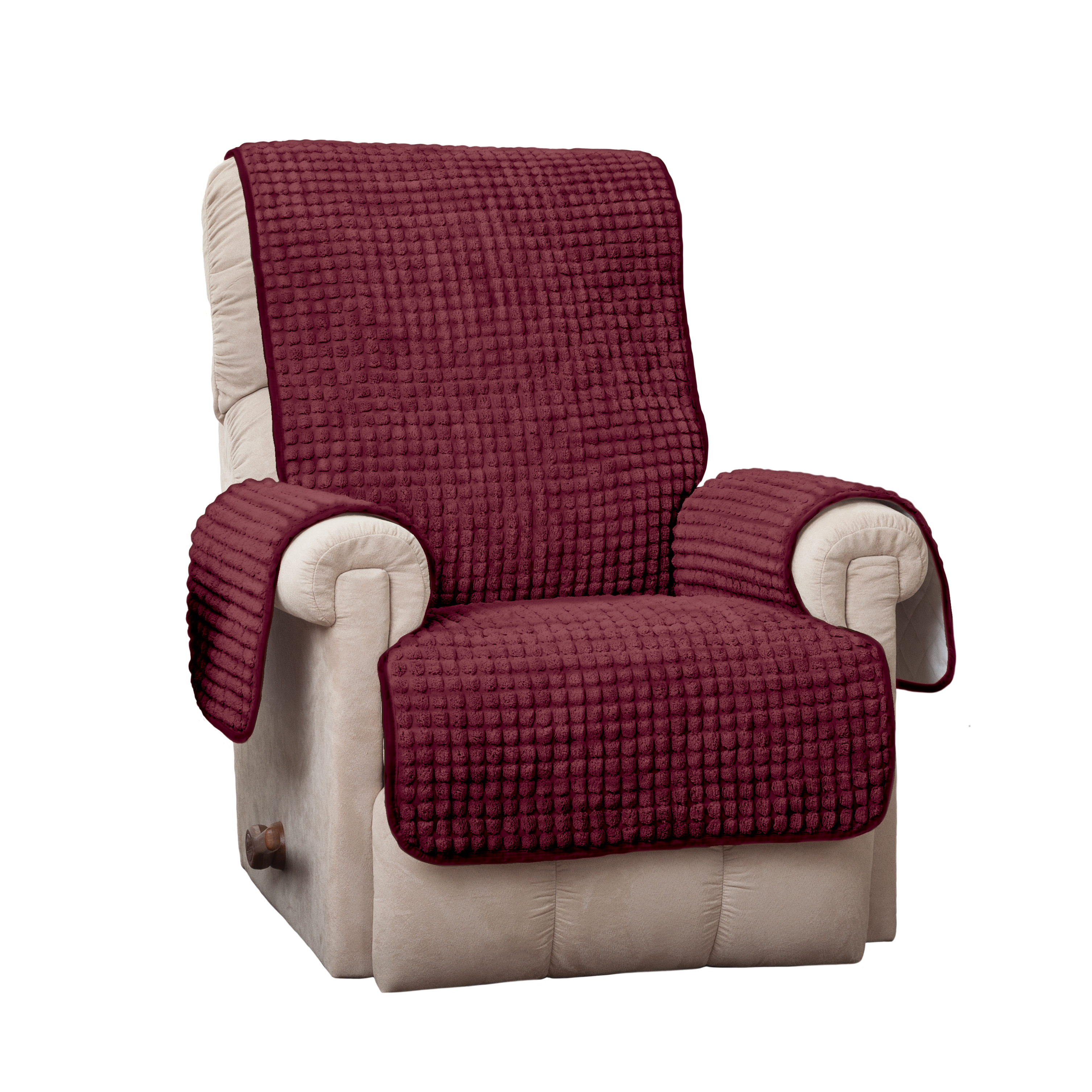 Innovative Textile Solutions Puff Recliner/Wing Furniture Cover Slipcover
