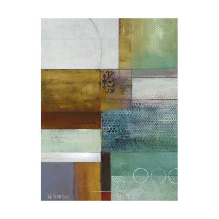 (Cosmopolitan Abstract I Print Wall Art By Willie Green-Aldridge)