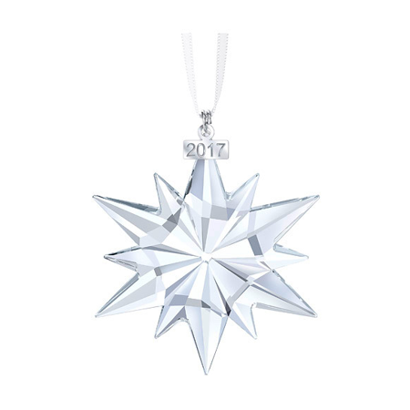 Swarovski Annual Edition Ornament 2017 - - Clear Fillable Christmas Ornaments
