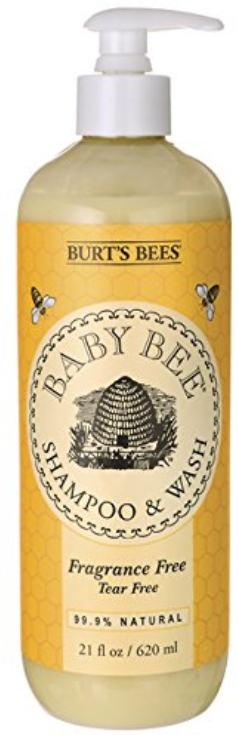 Burt's Bees Baby Bee Shampoo & Wash, Fragrance Free 21 oz (Pack of 6) by Burt%27s Bees