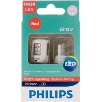 Philips Ultinon LED 7443RLED, W3X16Q, Plastic, Always Change In Pairs!