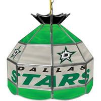 "NHL 16"" Handmade Tiffany Style Lamp, Dallas Stars"