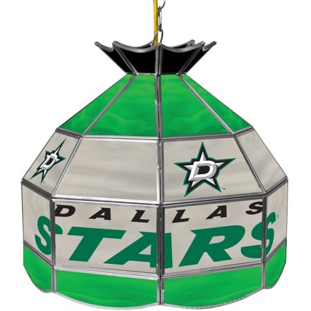"NHL 16"" Handmade Tiffany Style Lamp, Dallas Stars by"