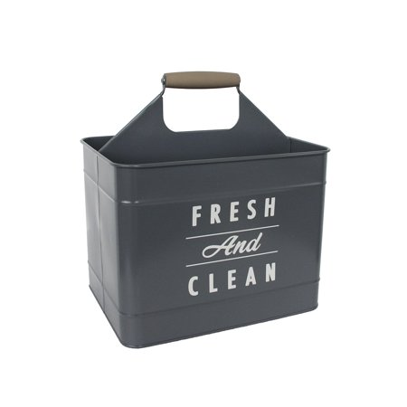 Better Homes & Gardens Laundry Basket Gray , Laundry Caddy , Metal Laundry Caddy