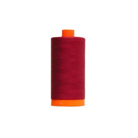 Aurifil 50Wt Cotton 1,422Yd-Dark Carmine Red - image 1 de 1