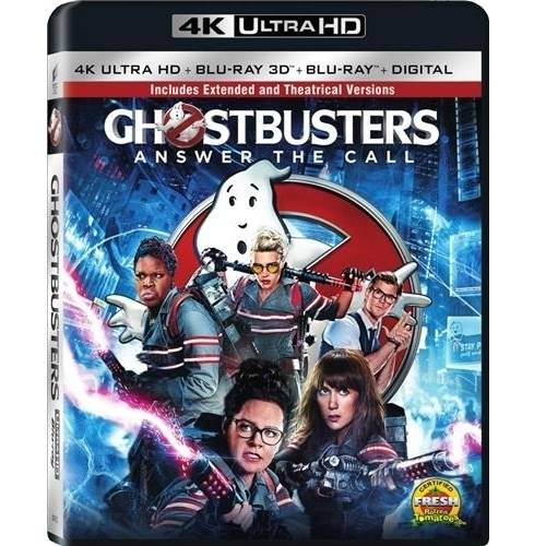 Ghostbusters (2016) (4K Ultra HD   Blu-ray 3D   Blu-ray   Digital) (Widescreen)
