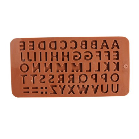 Roofei Silicone Mold DIY 26 English Alphabet Silicone Chocolate Molds Cake Mould Baking Tools Gummy Molds Silicone - Candy Mold - image 2 of 8