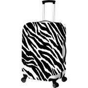 picnic gift 9014-lg zebra-primeware luggage cover - large