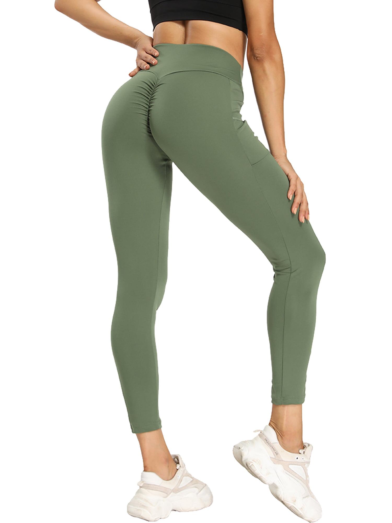 SLIMBELLE Scrunch Butt Lifting Leggings for Women High Waist Yoga Pants Gym Workout Tights TIK Tok Legging
